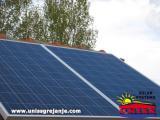 Solarni kolektori fotovoltni za struju, autonomni solarni sistem/Solarna mini elektrana