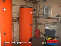Solarno grejanje kuce i sanitarne vode/Solarni akumulatori toplote/Baferi-Buffer/Solarna akumulacija toplotne energije