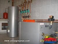 Solarno grejanje sanitarne vode STV-PTV/Solarni termoakumulacioni bojleri za sanitarnu vodu