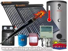 SOLARNI SISTEMI - Solarni sistemi za solarno grejanje vode sanitarne ptv - Solarni sistem za grejanje toplu vodu - Soarni kolektori - Solarni paneli - vakuumski vakuum - Solarno grejanje