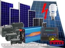 Solarni sistemi - Solarni sistemi za struju - Solarni paneli kolektori za struju elektricnu energiju - Solarni sistem za vikendicu