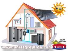 Solarno grejanje - Solarno grejanje kuce - Solarno grejanje vode, sanitarne ptv, stv - Solarno grejanje kuce sa alternativnim izvorima energije - Solarna akumulacija toplotne energije