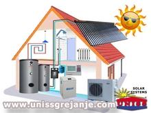 Solarno grejanje - Solarno grejanje kuce - Solarno grejanje vode, sanitarne, ptv - Toplotne pumpe