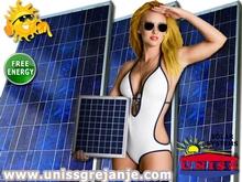 Solarni kolektori - Solarni kolektori za struju, proizvodnju struje, električne energije - Solarni paneli - Solarni fotonaponski kolektori