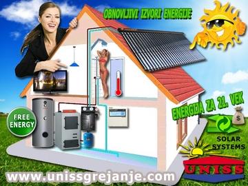 SOLARNI SISTEMI - Solarni sistemi za grejanje sanitarne vode, ptv, stv sa dogrevanjem od centalnog grejanja kuće