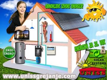 Solarni sistemi za grejanje vode - Solarno grejanje vode, solarni sistem za toplu vodu
