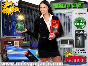 SOLARNI SISTEMI - Solarni sistemi za grejanje - Solarni sistemi za struju - Solarni sistemi za grejanje i struju - Toplotne pumpe