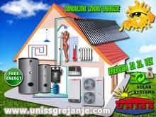 Solarno grejanje - Solarno grejanje kuće / Solarni grejni sistemi - Solarno grejanje vode, sanitarne, ptv - Toplotne pumpe
