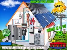 Solarno grejanje - Solarno grejanje kuce i toplotne pumpe