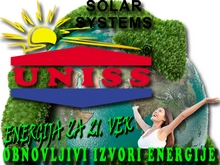 Soalrni paneli - Solarni vakuumski kolektori - Solarno grejanje kuće - Obnovljivi izvori energije - Specijalizovano preduzeće za solarnu energiju - Uniss Com Lab