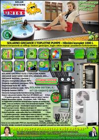 SOLARNO GREJANJE - SOLARNO GREJANJE KUĆE - TOPLOTNE PUMPE - SOLARNI KOMPLETI - Solarni hibridni sistemi - Oprema - CENA / Solarno grejanje sanitarne vode, grejanje vode STV - Džakuzi, SPA, Bazena - Solarni kompleti - Prodaja opreme - Cena - Solarni split sistemi / Solarni vakuumski kolektori, solarni kolektori, solarni paneli, solarni akumulatori toplote, solarni kontroleri, solarne pumpne grupe, pumpni moduli, toplotne pumpe, toplotne pumpe za grejanje kuće, toplotne pumpe vazduh voda